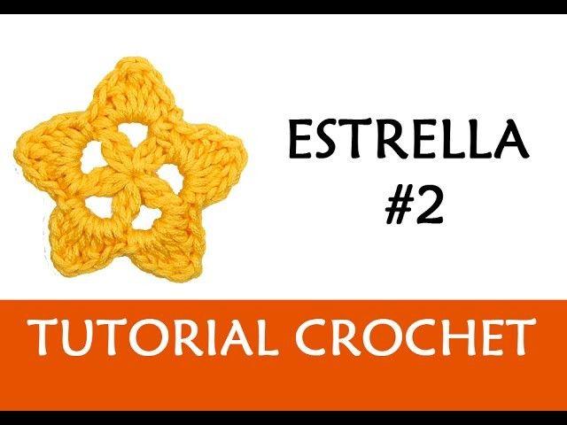 PATRÓN CROCHET: ESTRELLA #2   Patrones, Patron crochet and Crochet
