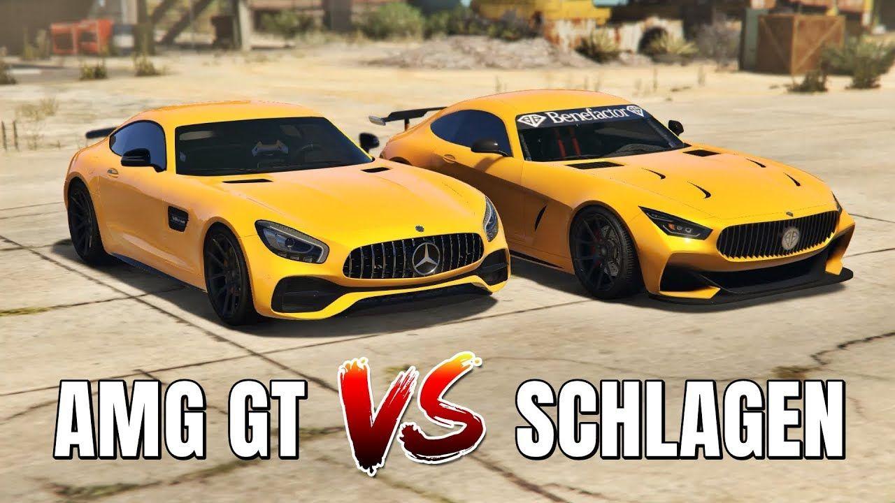 Schlagen Gt Vs Mercedes Amg Gt Grand Theft Auto V Which Is Best