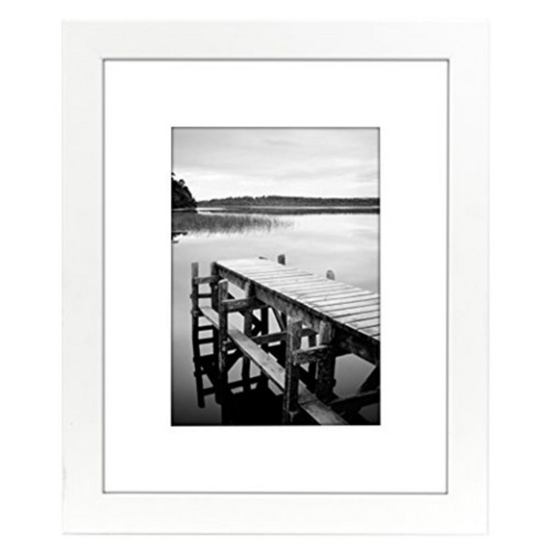 Americanflat 8x10 White Picture Frame - MK-PD3-810-WH