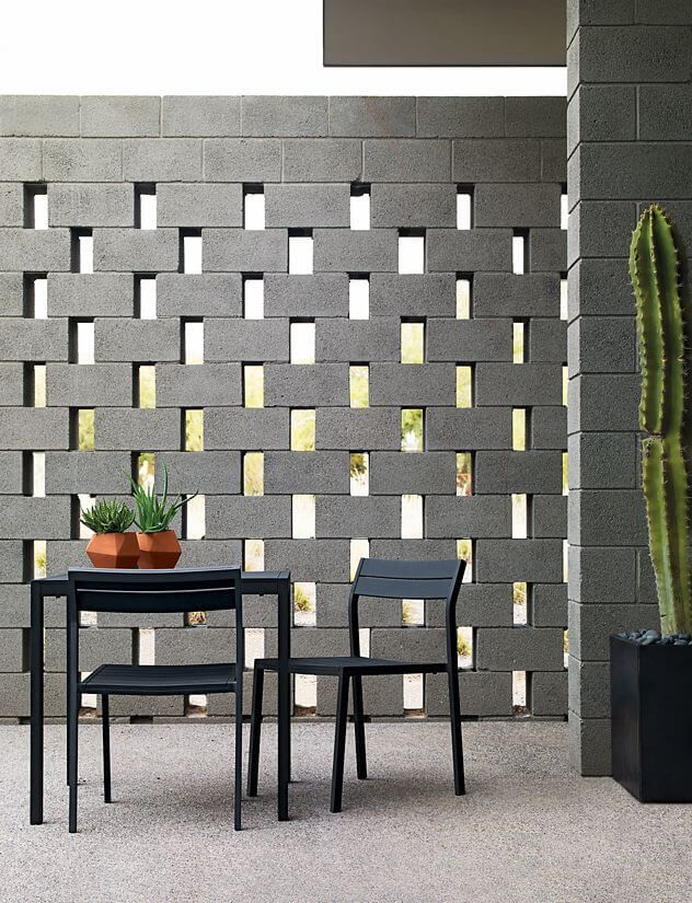 Ideas para adornar tu casa con bloques de cemento for Ladrillos decorativos para exteriores