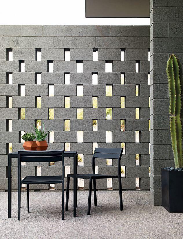 Ideas para adornar tu casa con bloques de cemento for Pared que deja pasar la luz