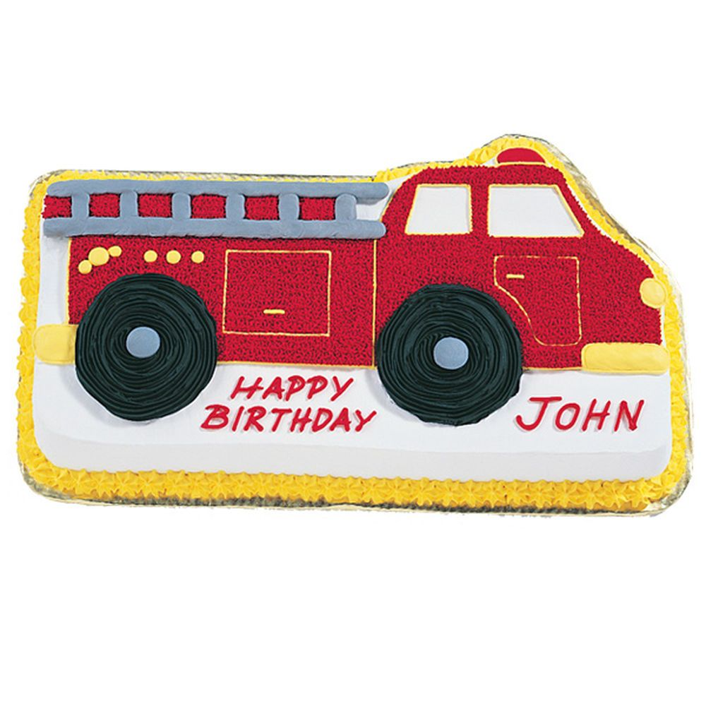This Birthday Cake Is Perfect For Fire Truck Themed Birthdays