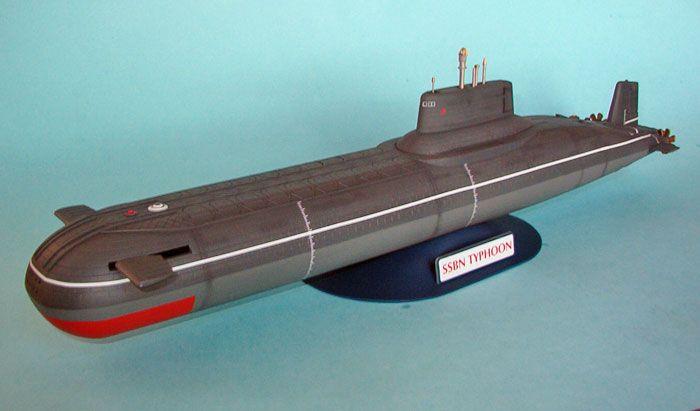 1 400 Scale Soviet Typhoon Class Submarine By Revell