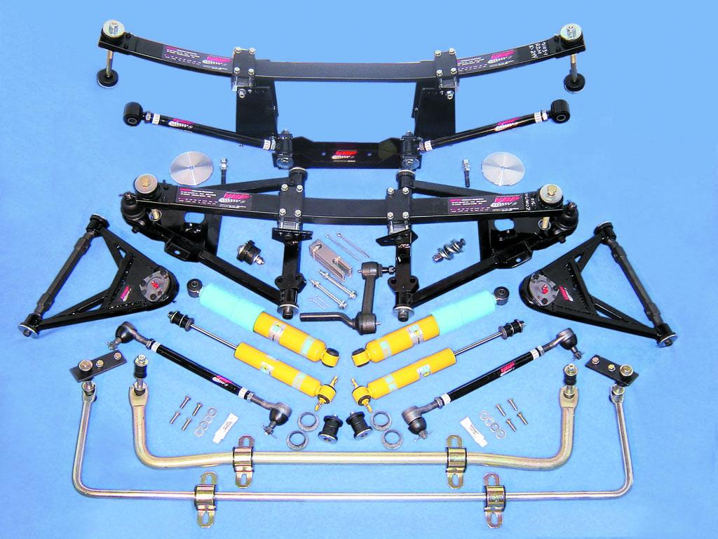 hight resolution of c2 c3 performance plus suspension kit 1963 79 corvettes kit includes