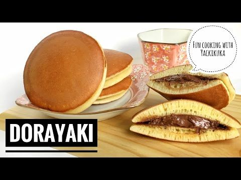 Resep Dorayaki Japanese Pancake Dorayaki Youtube Dorayaki Recipe Japanese Pancake Japanese Dessert