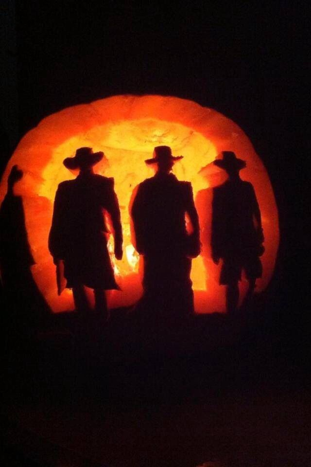 Tombstone pumpkin carving