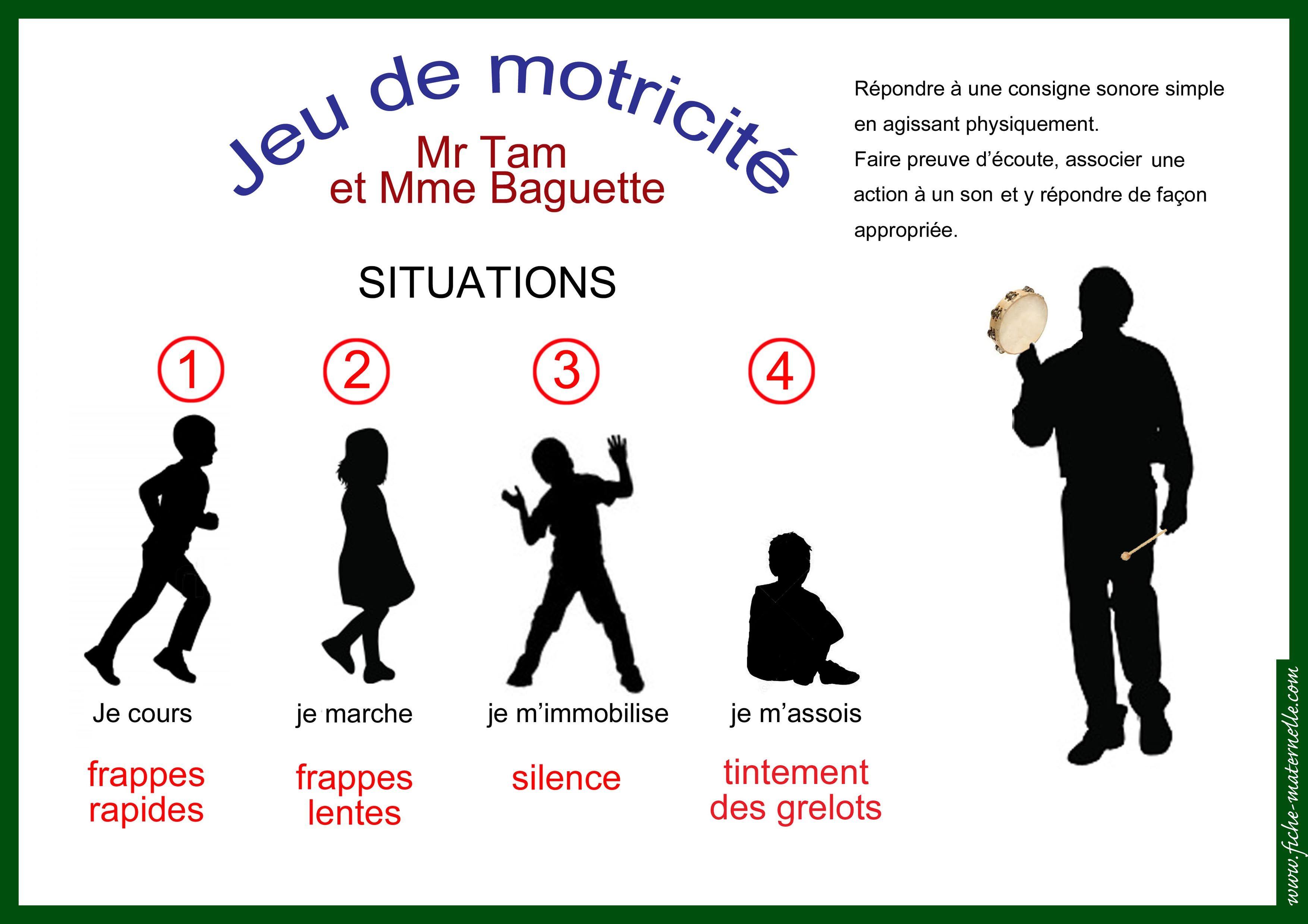 Motricité en maternelle | Motricité maternelle, Activité ...