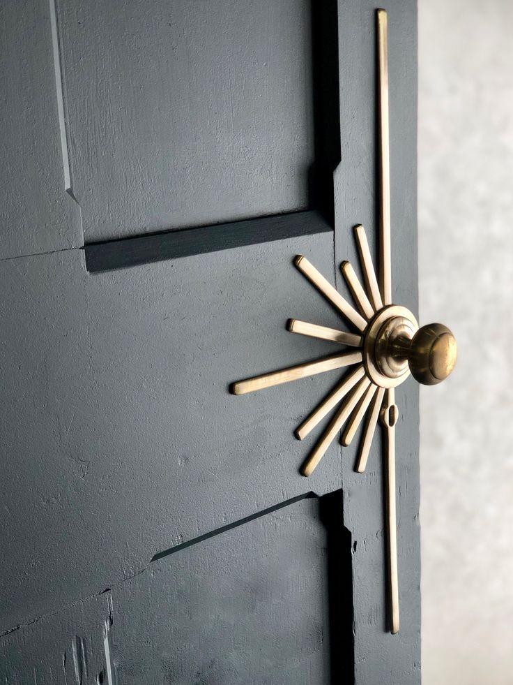 Hand Made In Solid Bronze And Compatible With A Standard Lock And Any Door En 2020 Casas Por Dentro Disenos De Unas Decoracion De Unas