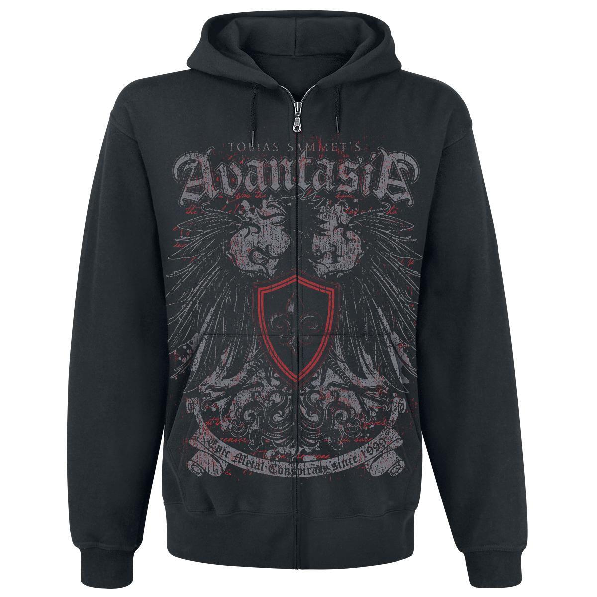 Shirt Avantasia Zippé À Metal«Dispo Capuche »epic Sweat Emp Chez oWedCxBr