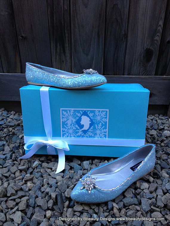 Snowflake Limited Edition Glitter Couture Flats Elsa 7wWzT8OWB