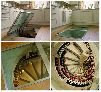 wine storage. wtf...incredible. | Wine cellar design, Spiral ...