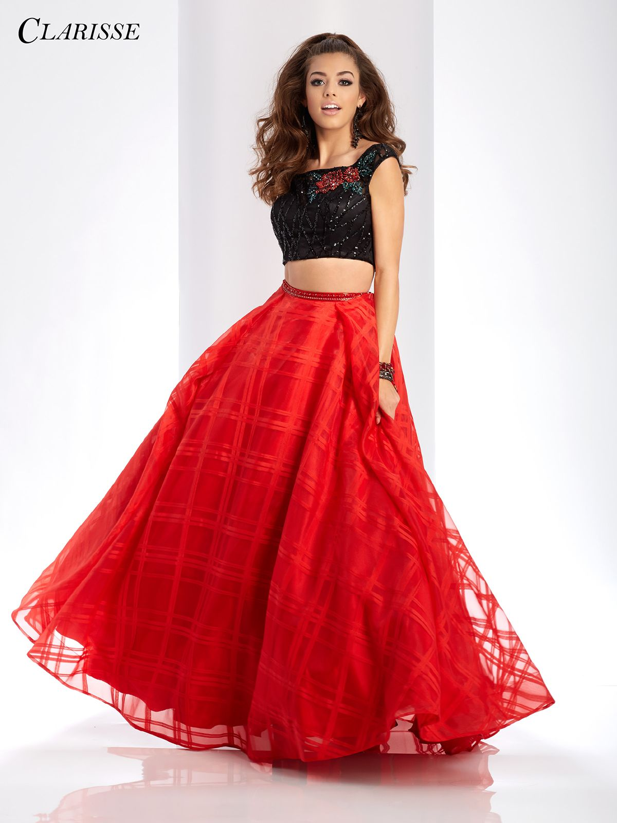 42892bb0d44e Black and Red Two Piece Prom Dress 3580 | Two Piece Prom Dresses ...
