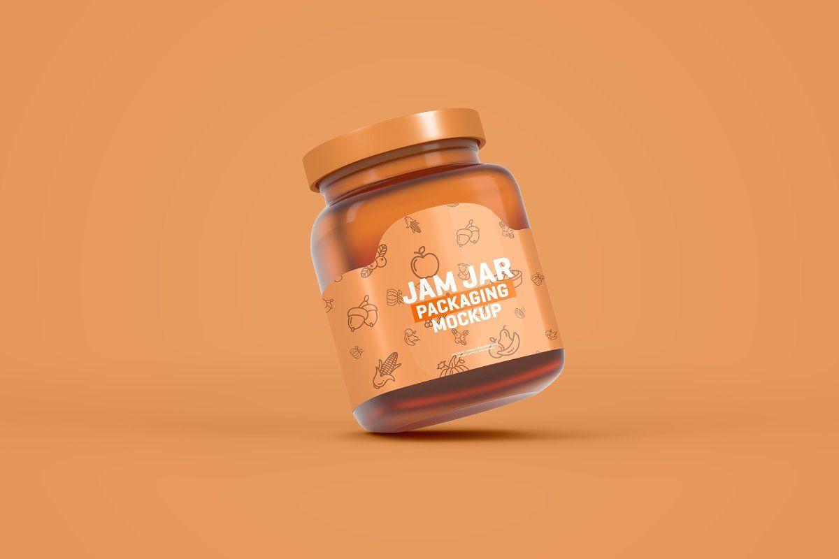 Download Jam Packaging Mockup Yellowimages