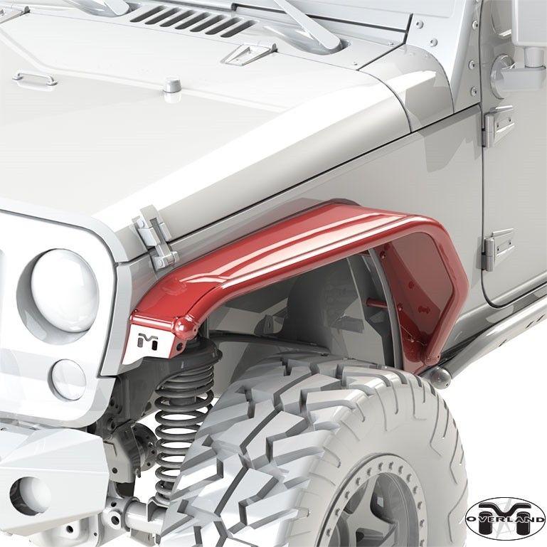 Metalcloak Jk Wrangler Overland Tube Fender Jeep Wrangler Jk
