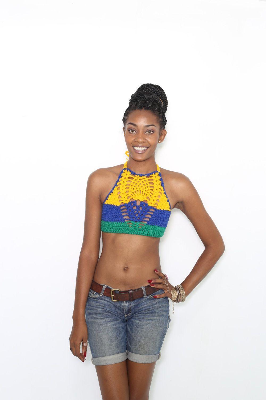 St.Vincent crochet tops All colors Sizes A-DD cups