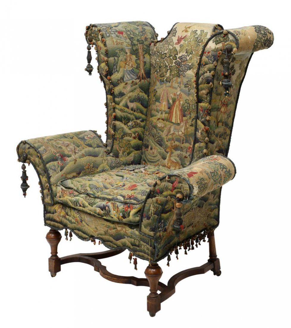 Ohrensessel Englisch Unusual 18th C Scrolled Wingback Arm Chair On Chair Designs
