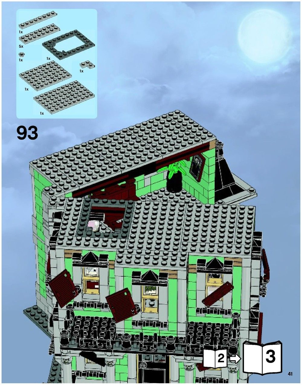 Monster Fighters - Haunted House [Lego 10228] #logicboard