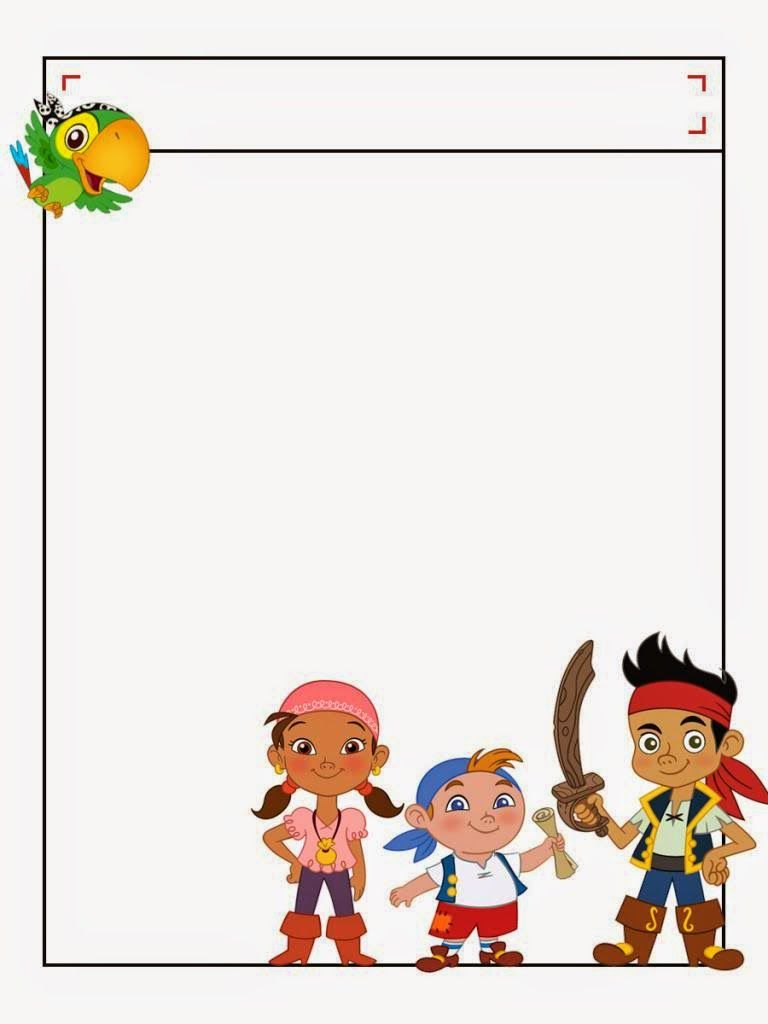 Jake and the Neverland Pirates Free Printable Notebook. | Jack & the ...