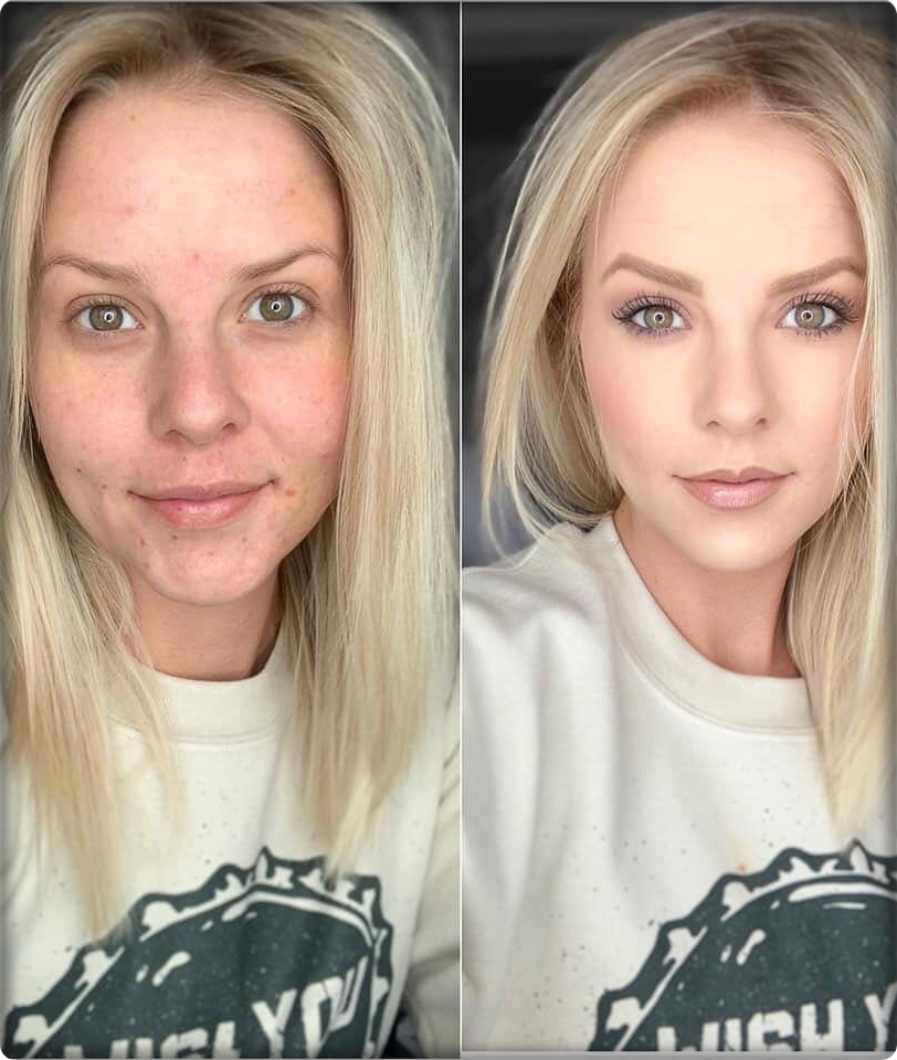 The Importance of Good Makeup! 2019 Makeup Before and