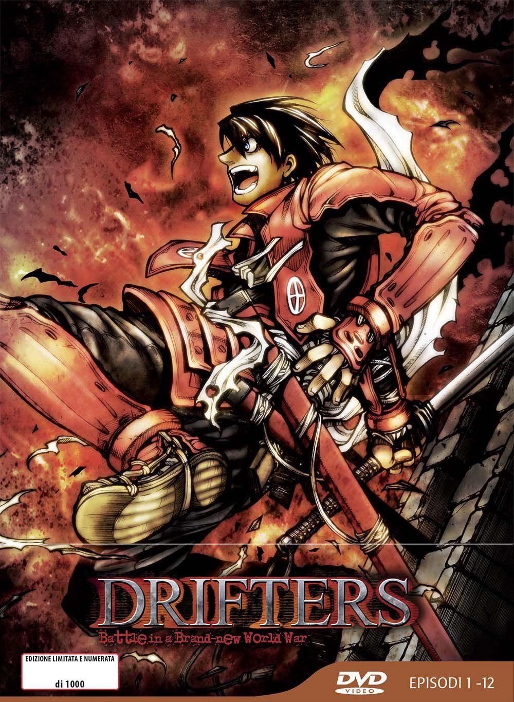 Drifters Eps 0112 Limited Edition Box 3 Dvd Italia