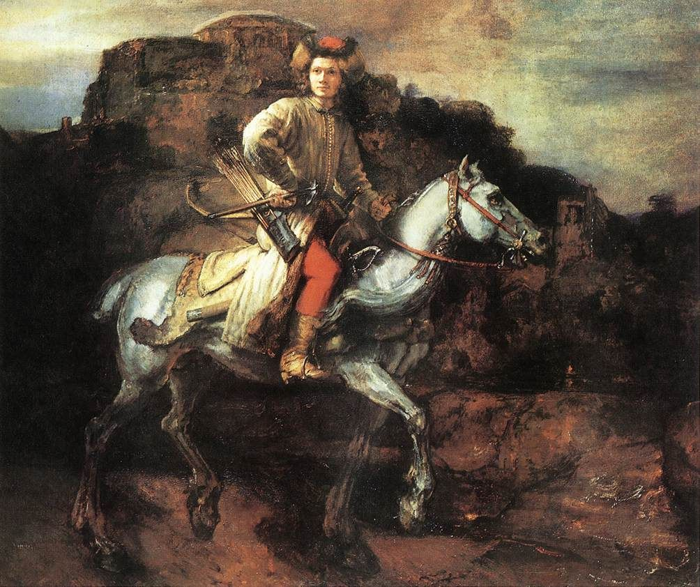 """""""The Polish Rider"""" by Rembrandt"""