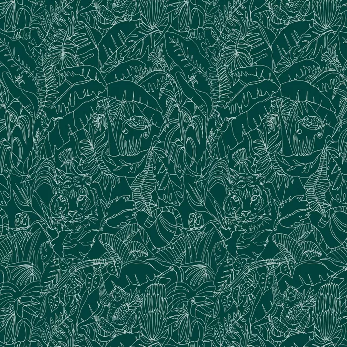 Jungle Animals Peel Stick Wallpaper Green Opalhouse In 2021 Peel And Stick Wallpaper Jungle Wallpaper Dark Green Wallpaper