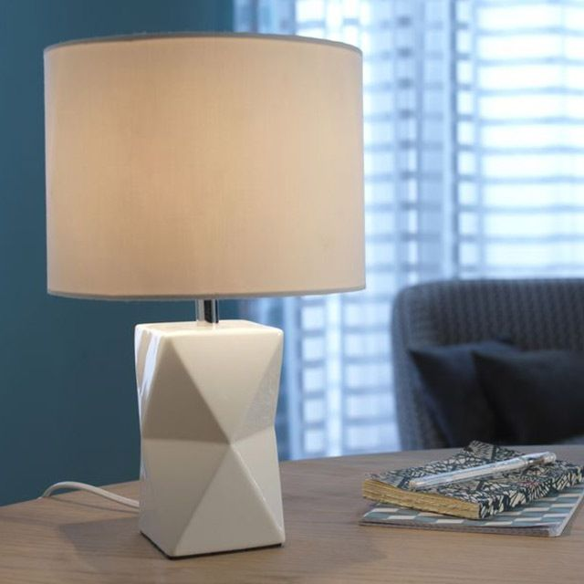 Lampe A Poser Colours Camia Blanc Lampe A Poser Lamp Castorama