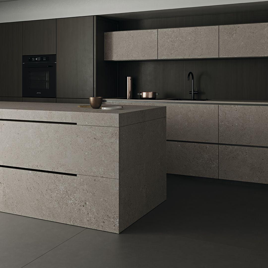 Cocina Cálida Y Atemporal Indoor Tile Outdoor Walls Countertops