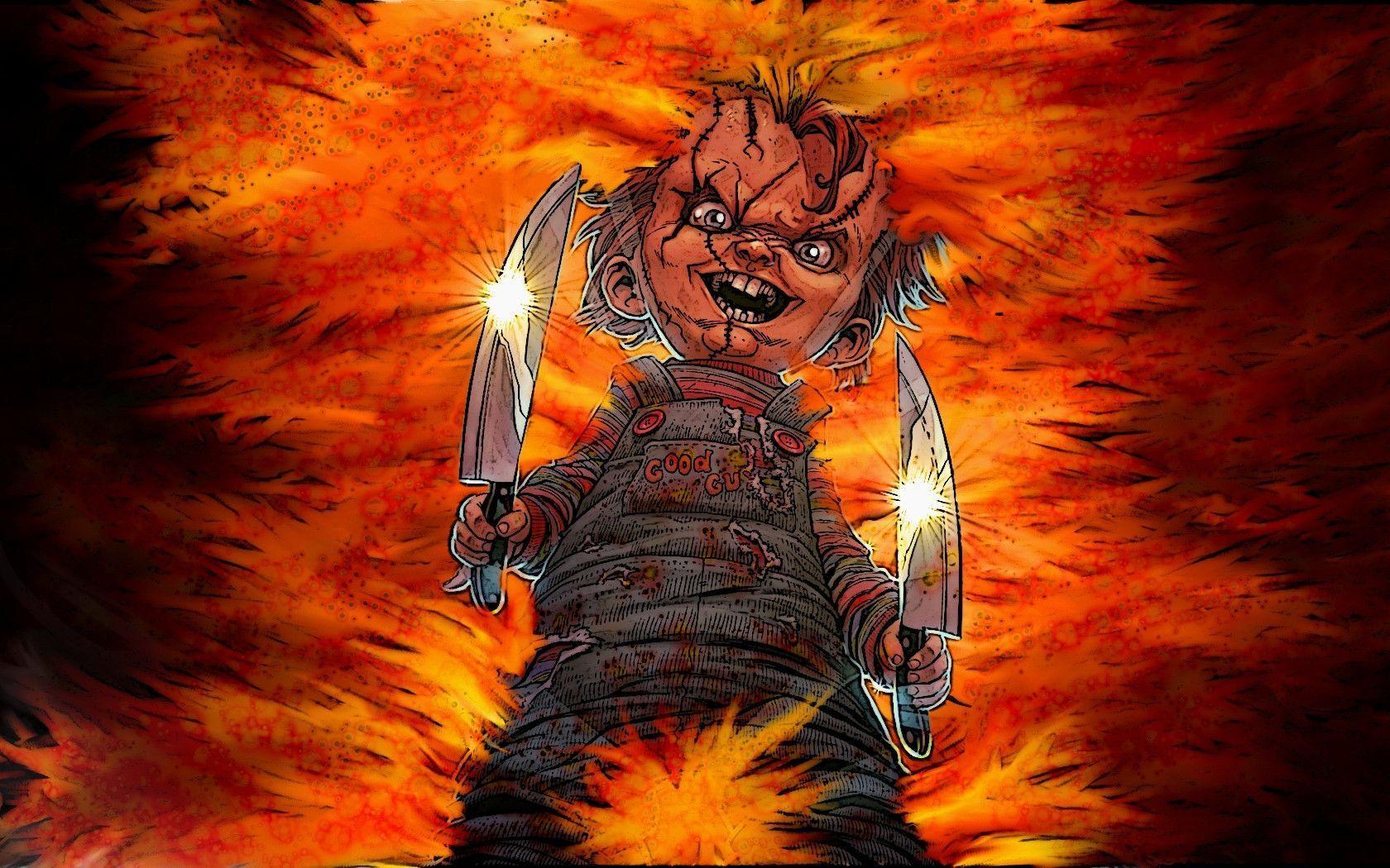 Chucky Wallpaper Hd Dekstop 1680x1050PX Wallpaper Chucky