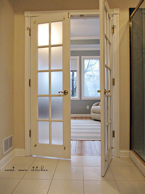 Frosted Panes How To Add Privacy To Your Current Space At Low Cost - Cost to add window in bathroom
