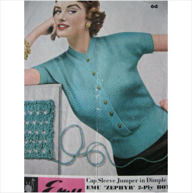 Patons Big Ben 1042  Vintage Knitting Pattern womens Jacket//Cardigan Chunky