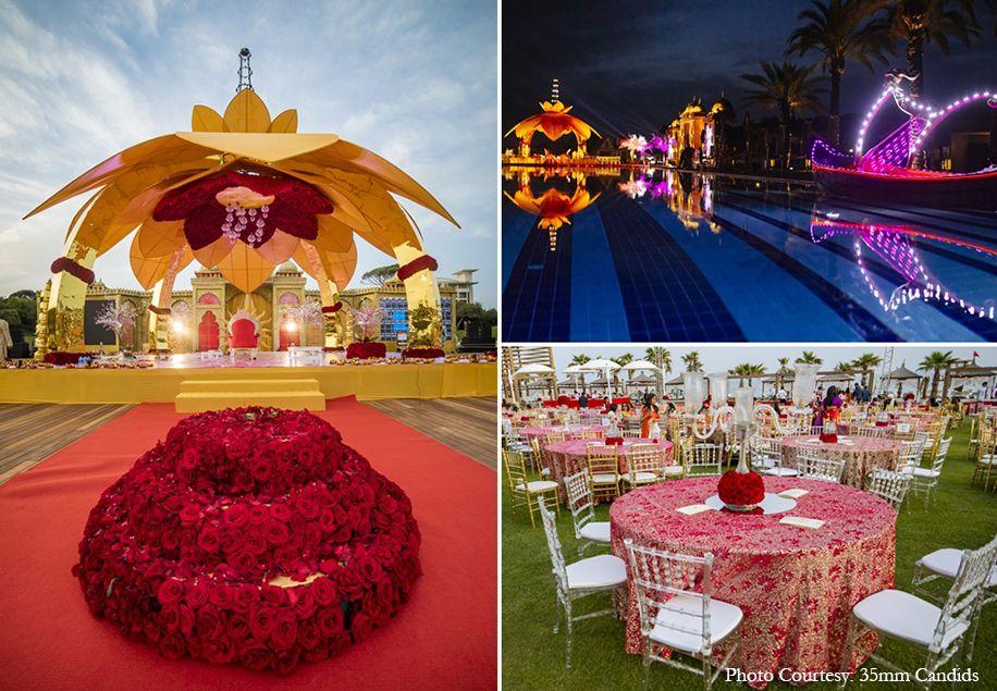 Ayesha And Dhairya Rixos Premium Belek Turkey Weddings Weddingsutra Turkey Wedding Traditional Indian Wedding Wedding Sutra