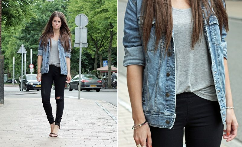 Outfits With A Jean Jacket