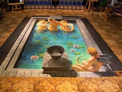 3d pavement art