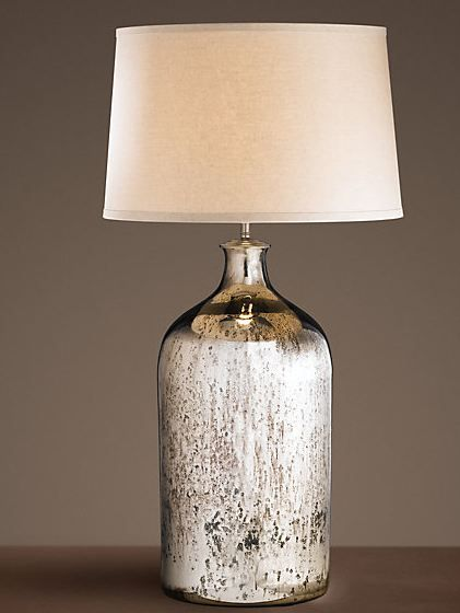 Restoration Hardware Mercury Lamp. We Have This  Probably Remain The Master  But Maybe Lounge