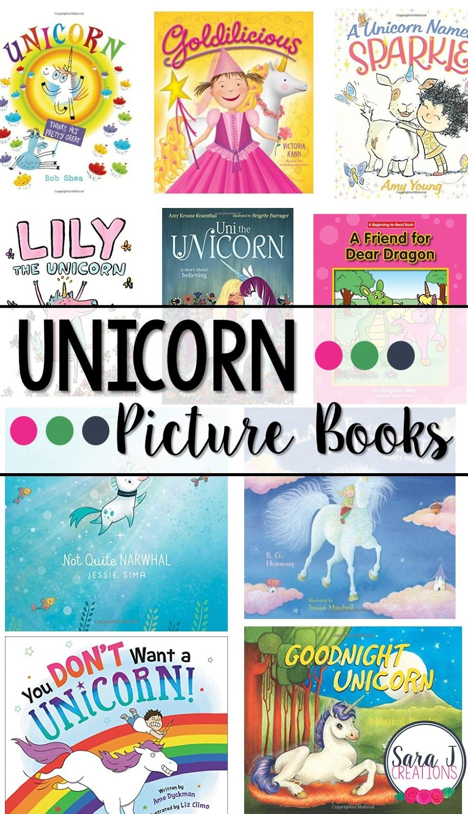 Unicorn Picture Books | Lyla Grace Borchardt | Toddler books
