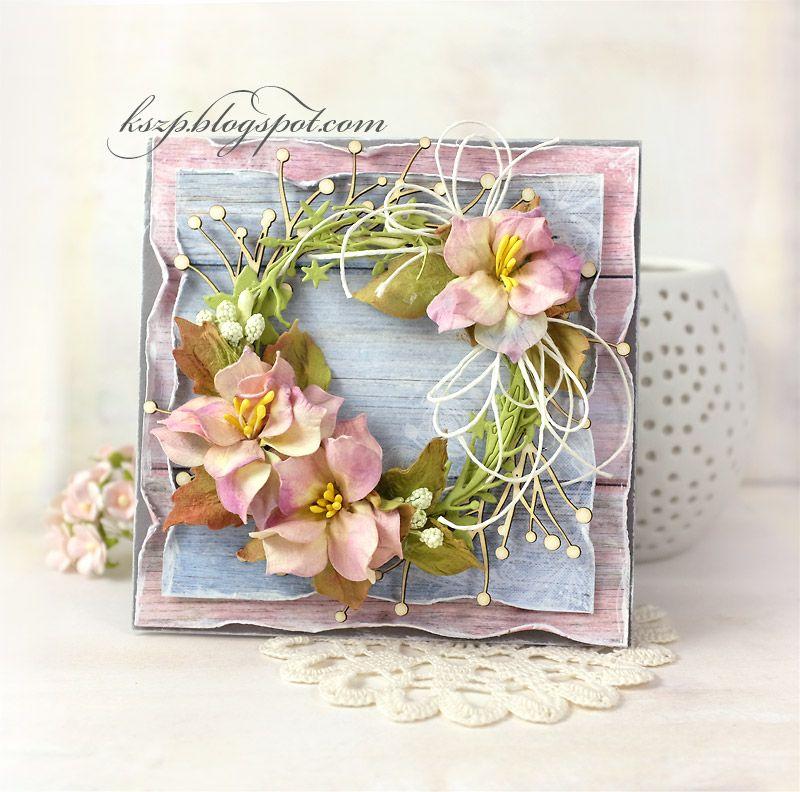 Klaudia Kszp Floral Cards Flower Cards Cards Handmade