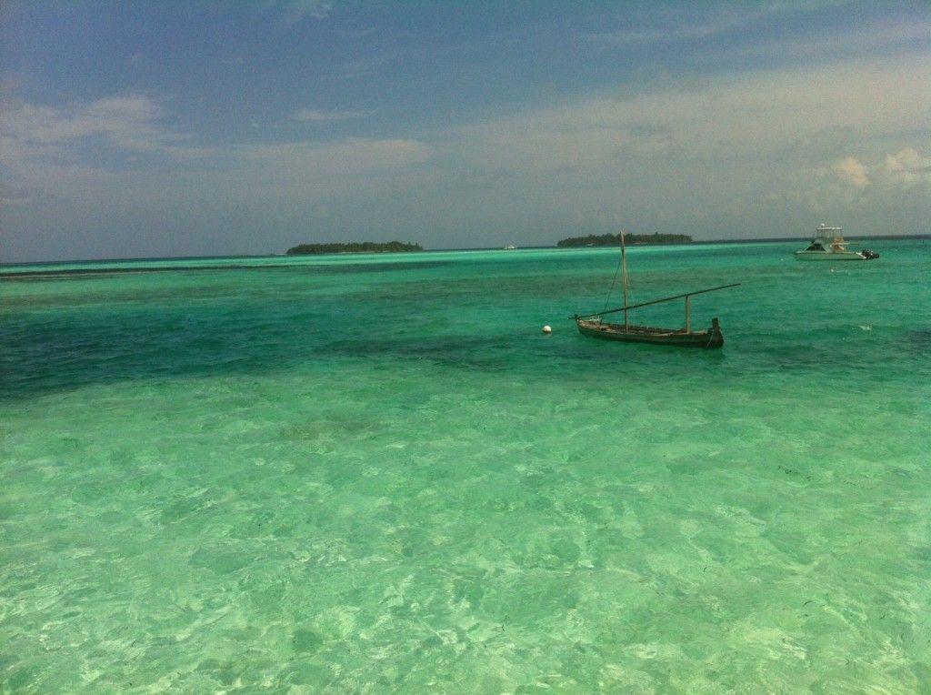 blue salt and beach