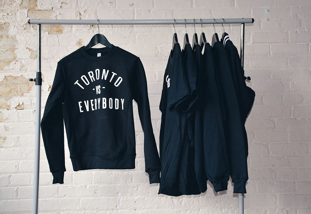ce1ccc1fc Toronto v.s Everybody Crewneck - by Peace Collective. Need it ...