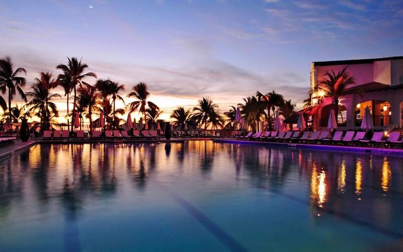 404aac3f8f3f2 poolside at night in Club Med Ixtapa