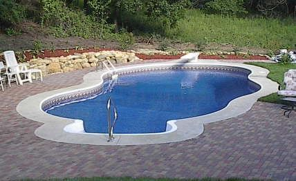 Inground Swimming Pools Gallery   Do it yourself pool ...