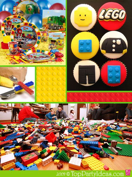 More Lego party ideas - from invites, to decor to recipes and much more!