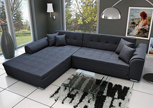 Ecksofa Sorrento Eckcouch Sofa Couch Mit Bettfunktion Sofas En