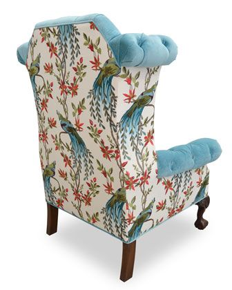 Beautiful Although The Pattern Matching Could Have Been Better With Images Blue Velvet Chairs Haute House Furniture Chair