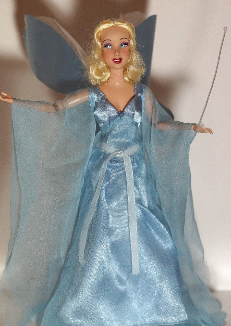Blue Fairy OOAK doll from Walt Disney´s Pinocchio. Before ...