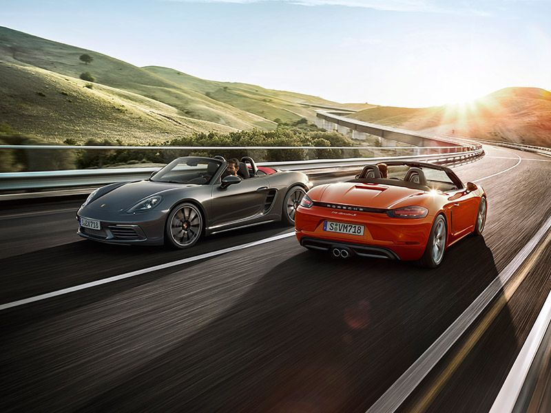 Porsche 718 Boxster Models Character 718 Boxster