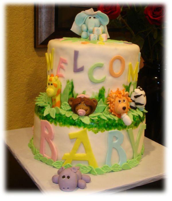Baby Animals Abc's 123&... | Cake decorating, Abc, Cake