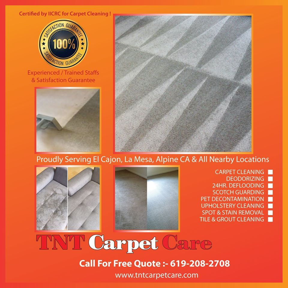 Best Carpet Cleaning in El Cajon CA How to clean carpet