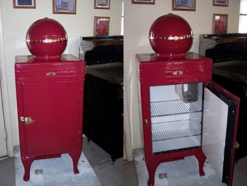Ge Monitor Top Vintage Refrigerator See Vintage Ge Ads 1920s 1930s Vintage Refrigerator Vintage Fridge Vintage Appliances