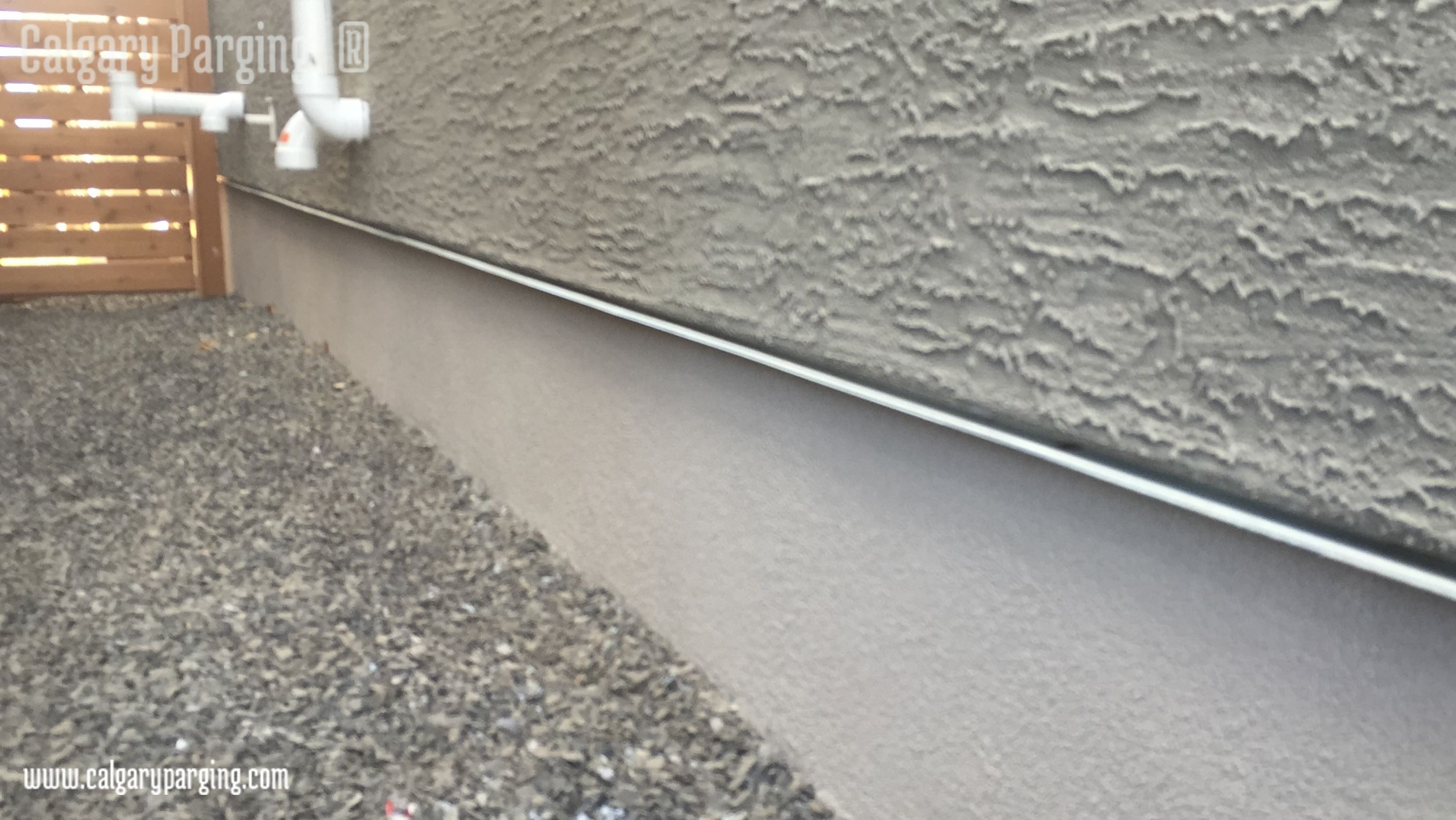 Parging with acrylic stucco finish smooth look flexible material parging with acrylic stucco finish smooth look flexible material washable and more durable solutioingenieria Images